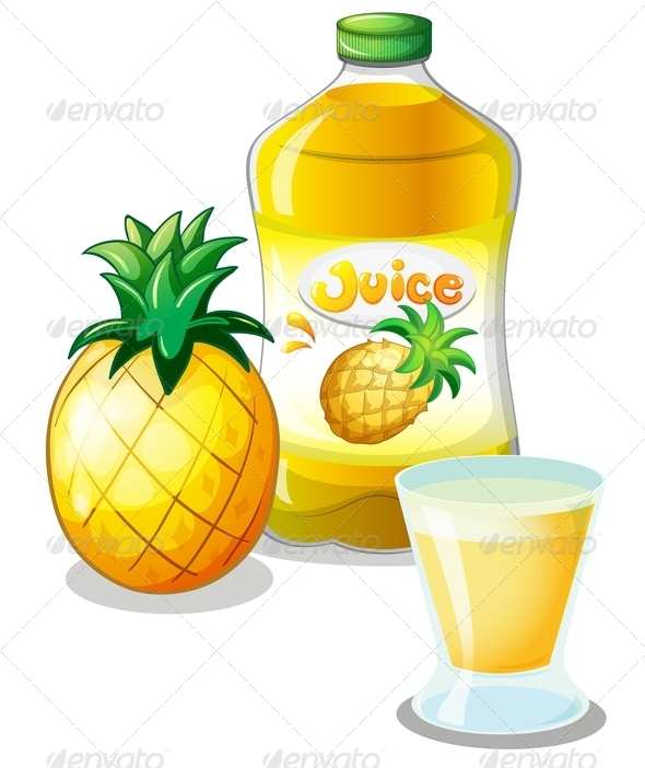 GraphicRiver Pineapple Juice 7893190