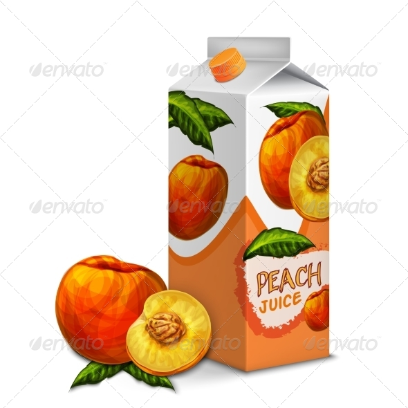 GraphicRiver Peach Juice Pack 7893203