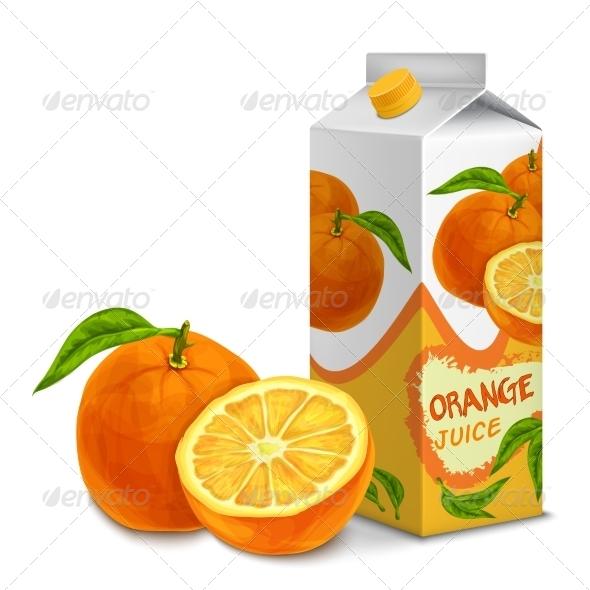 GraphicRiver Orange Juice Pack 7893209