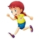 Running Girl - GraphicRiver Item for Sale