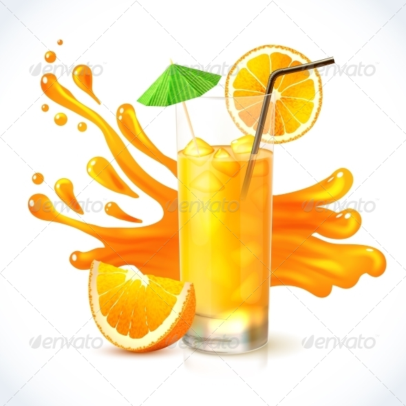 GraphicRiver Orange Juice 7893406
