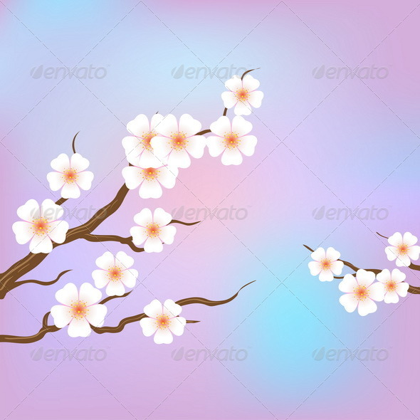 GraphicRiver Sakura 7893429