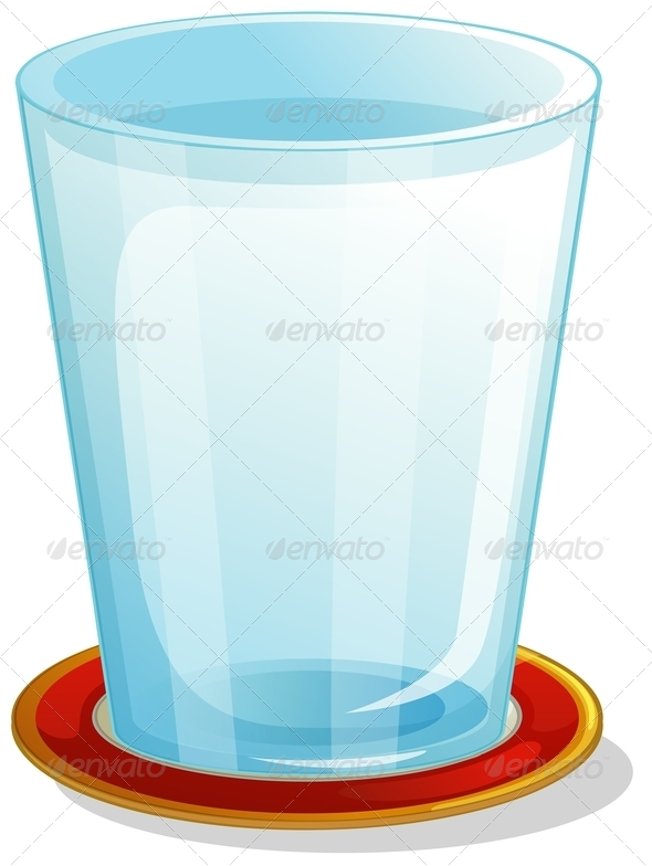 GraphicRiver Clear Drinking Glass 7893512