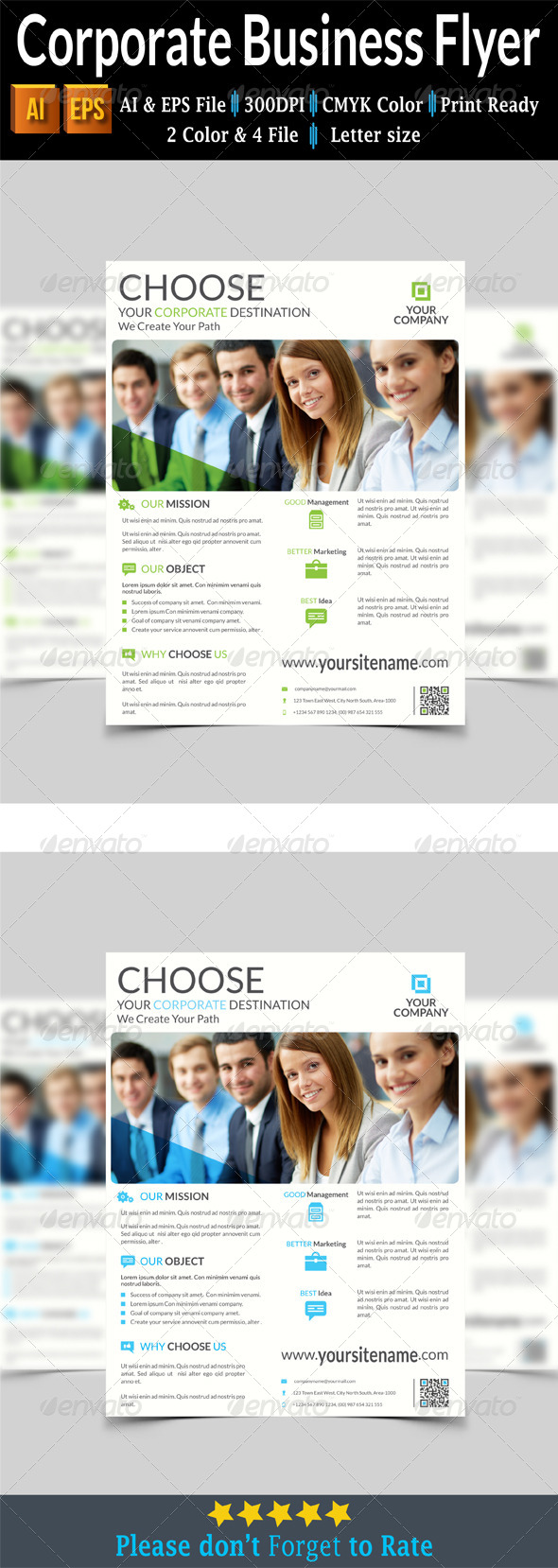 GraphicRiver Corporate Business Flyer 7893575