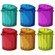 Six Colorful Bins - GraphicRiver Item for Sale