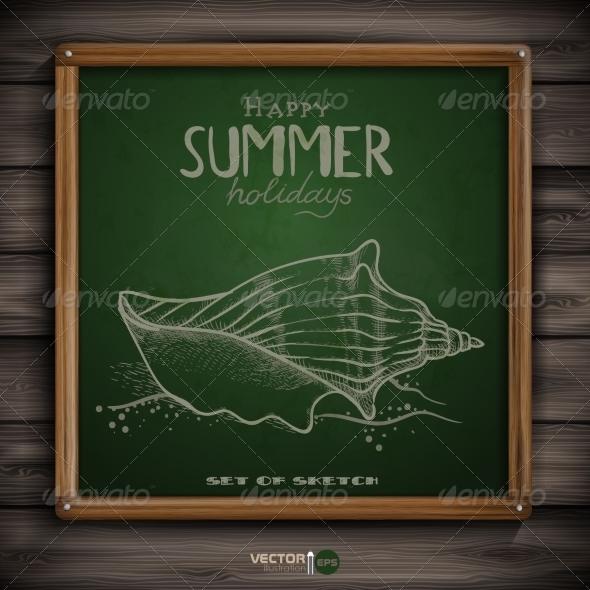 GraphicRiver Set of Hand Drawn Various Elements 7893900