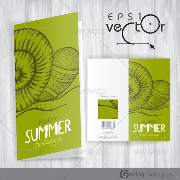 GraphicRiver Greeting Card Design Template 7893906