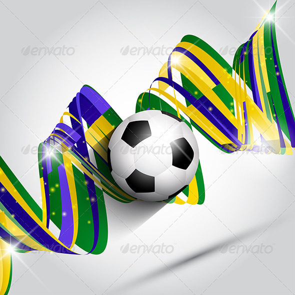 GraphicRiver Abstract Football Background 7893929