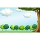 Clear Blue Sky and Trees - GraphicRiver Item for Sale