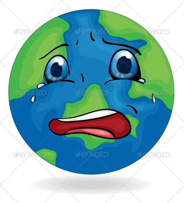 GraphicRiver Sad Earth 7894160
