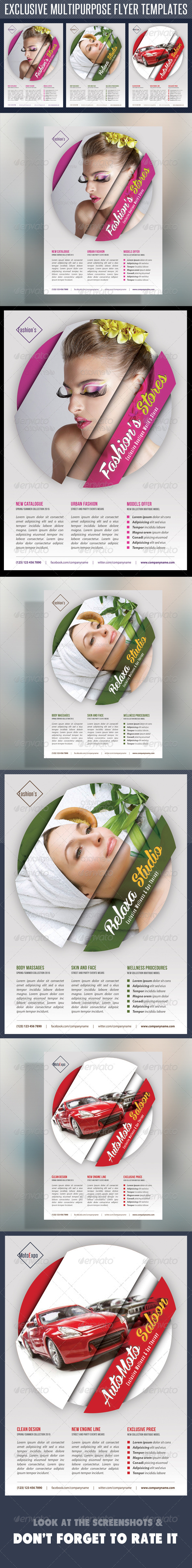 GraphicRiver Multipurpose Product Flyer V03 7894467