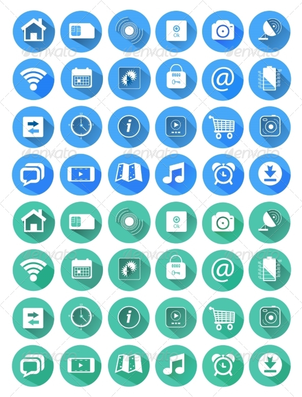 GraphicRiver Icons for Web and Mobile Applications 7894598