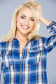 Smiling healthy young blond woman - PhotoDune Item for Sale