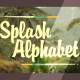 Splash Alphabet - VideoHive Item for Sale