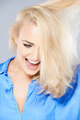 Laughing happy blond woman - PhotoDune Item for Sale