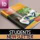 Student Newsletter Template - GraphicRiver Item for Sale