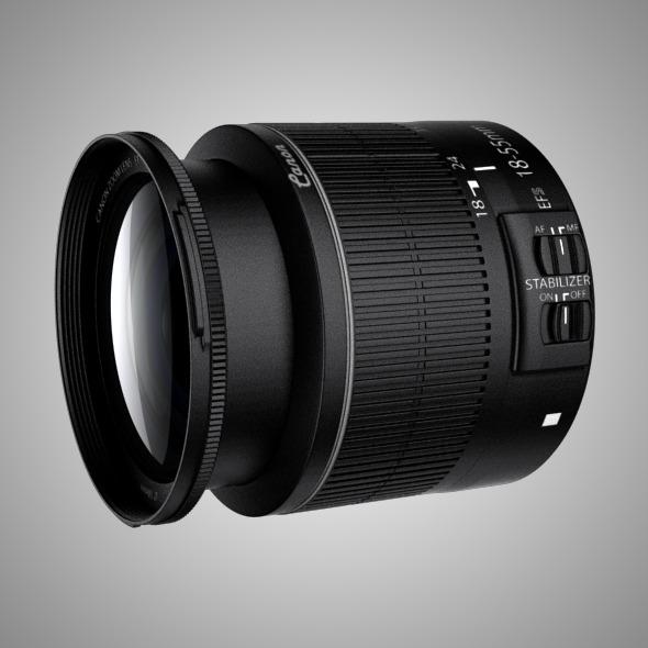 3DOcean Canon EFS 15-88 IS II Lens 7895696