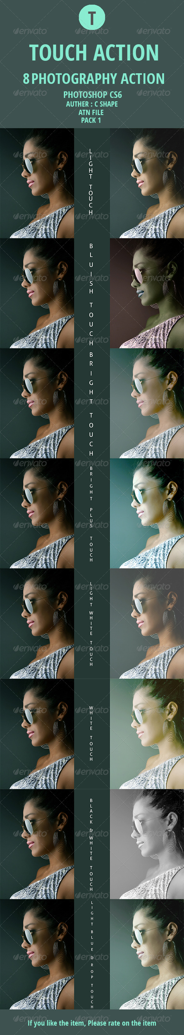 GraphicRiver Touch Photography Action 0.1 7857250