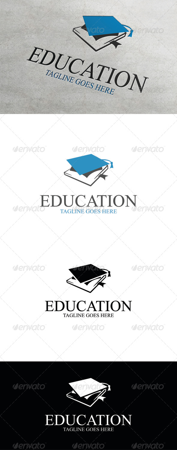 GraphicRiver Education Logo Template 7896007
