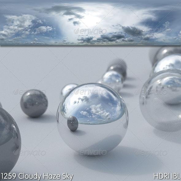 3DOcean HDRI IBL 1259 Cloudy Hazy Sky 7896077