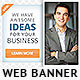 Corporate Web Banner Design Template 39 - GraphicRiver Item for Sale