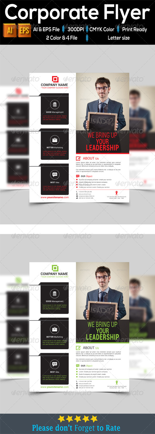 GraphicRiver Corporate Flyer 7896421