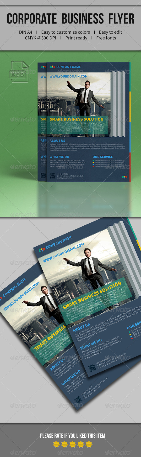 GraphicRiver Corporate Business Flyer 01 7896422