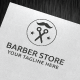 Barber Store Logo Template - GraphicRiver Item for Sale