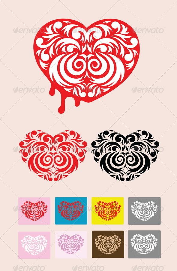 GraphicRiver Heart Decoration 7897025