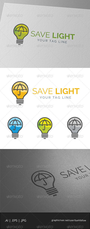 GraphicRiver Light Umbrella Logo 7897454