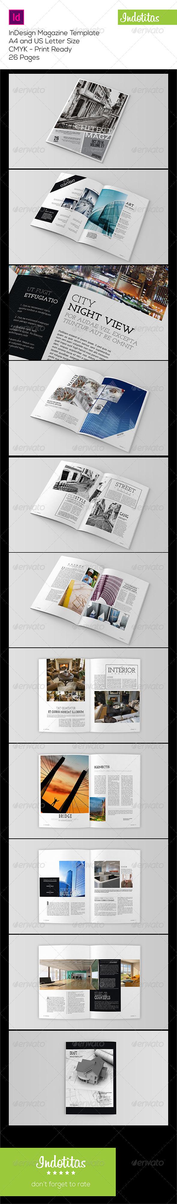 GraphicRiver Indesign Magazine Template 7897723