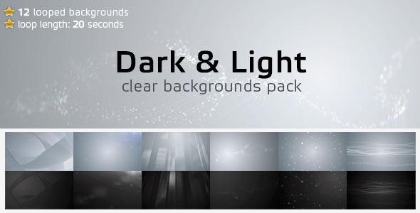 Dark & Light Backgrounds 12-Pack