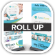 SensiCare Medical Dental Health Roll Up  - GraphicRiver Item for Sale