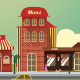 Small Town Set - GraphicRiver Item for Sale