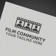 Film Community Logo - GraphicRiver Item for Sale