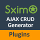 Laravel CMS  - Ajax CRUD Plugins