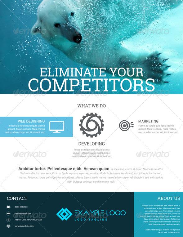 GraphicRiver Web Graphic Design Flyer 7899870