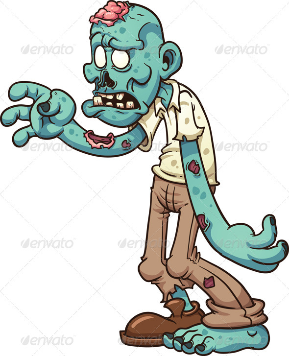 GraphicRiver Cartoon Zombie 7900100