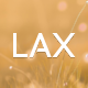 Lax - Modern Coming Soon Page