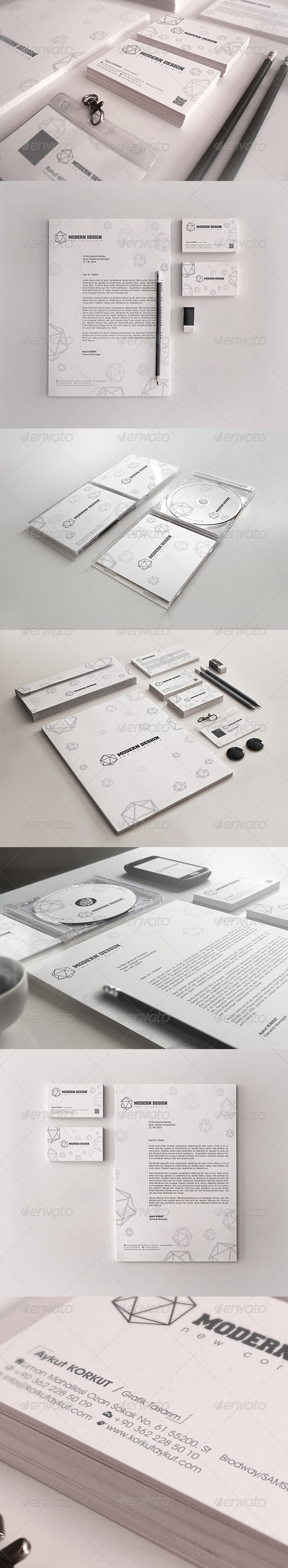 GraphicRiver Modern Design Corporate Identity Package 7900122