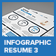 Clean Infographic Resume Vol 3 & Cover Letter - GraphicRiver Item for Sale