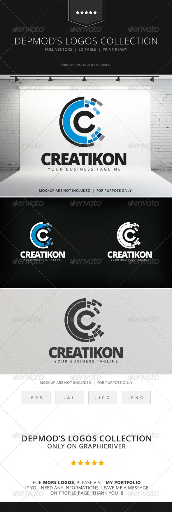 GraphicRiver Creatikon Logo 7900629