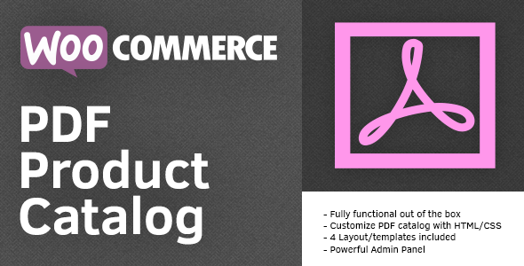 CodeCanyon PDF Product Catalog for WooCommerce 7874949