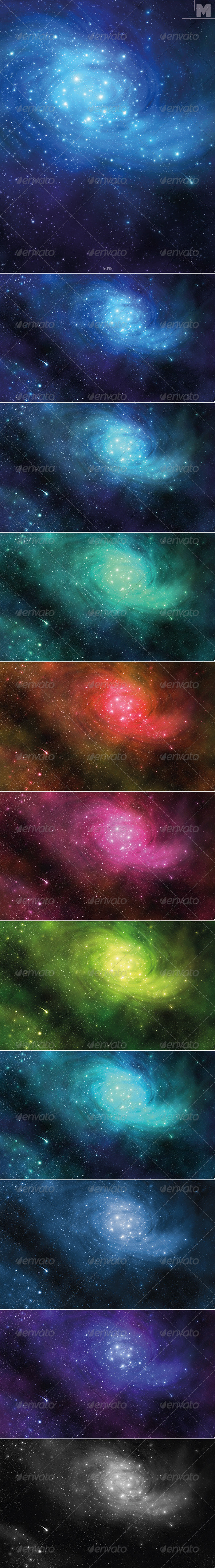 GraphicRiver Space Background 7901117