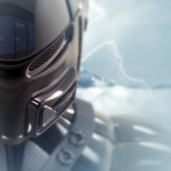 3DOcean Robot ninja bust 7901526