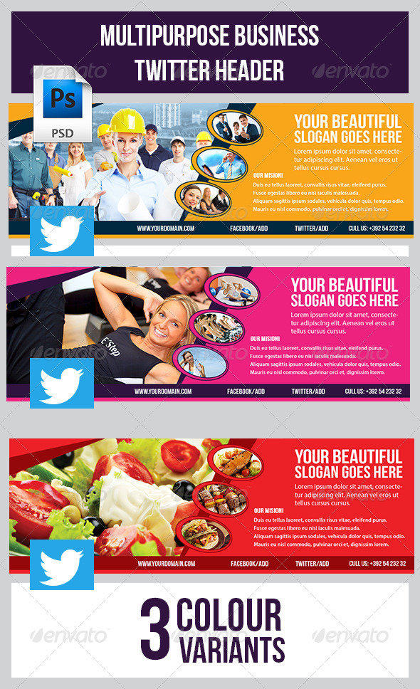 GraphicRiver Twitter Header 7901580