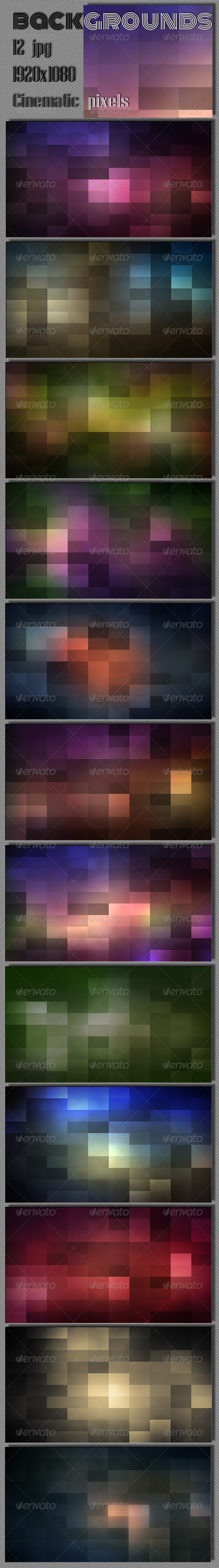 GraphicRiver Pixel Cinematic Wallpaper 7901621