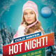 Hot Night Party Design Template - GraphicRiver Item for Sale