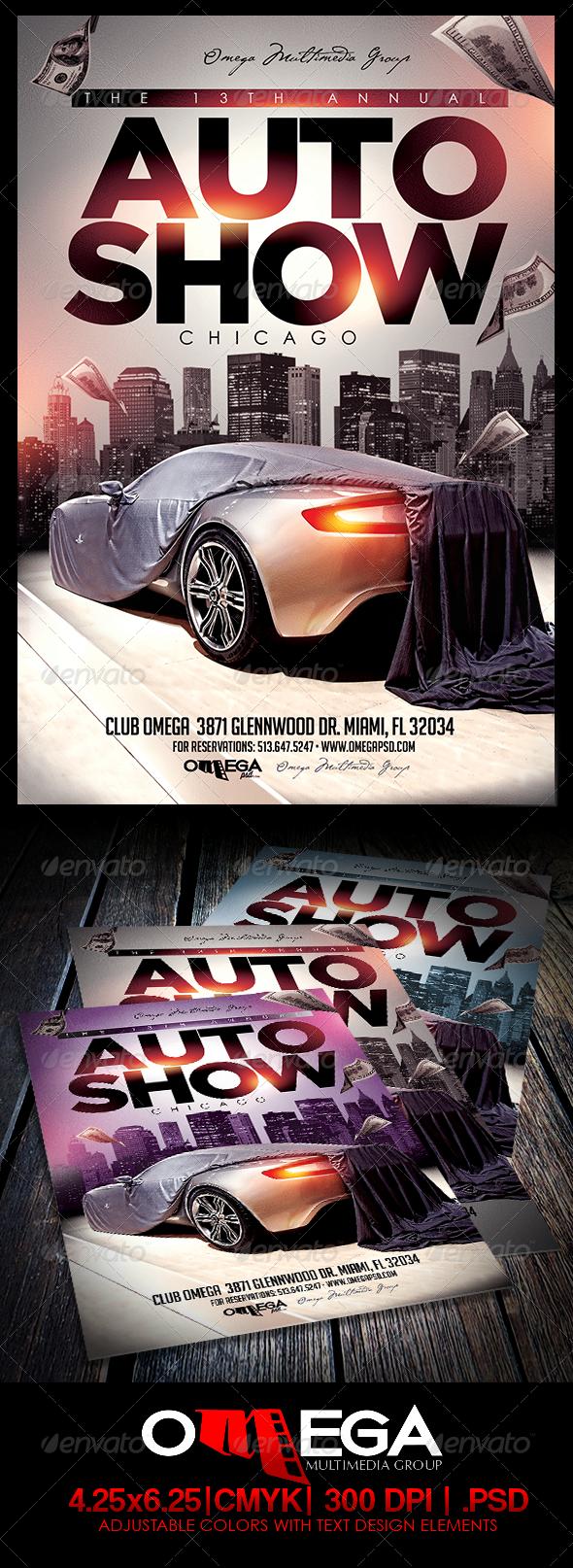 GraphicRiver Auto Show 7902278