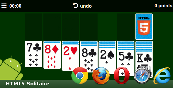 CodeCanyon HTML5 Solitaire 7902571